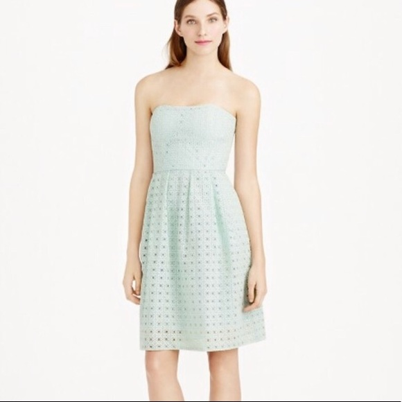 6082a09b65 J. Crew Dresses   Skirts - J. Crew Hayley Dress in Organza Eyelet Size